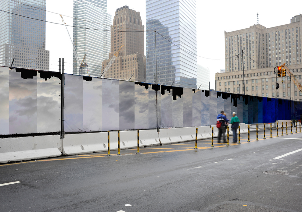 john locke  u00bb blog archive  u00bb wtc construction fence proposal